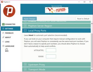 Psiphon for pc 3